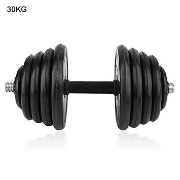 Wenwenzui-ES Ejercicio Mancuerna Levantamiento de Pesas Set Barbells Muscle Build Crossfit Equipment: Amazon.es: Hogar