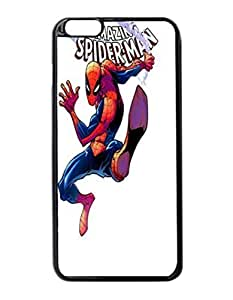 "The Amazing Spider-Man Custom Image Case iphone 6 -5.5 inches case , Diy Durable Hard Case Cover for iPhone 6 Plus (5.5"") , High Quality Plastic Case By Argelis-Sky, Black Case New"