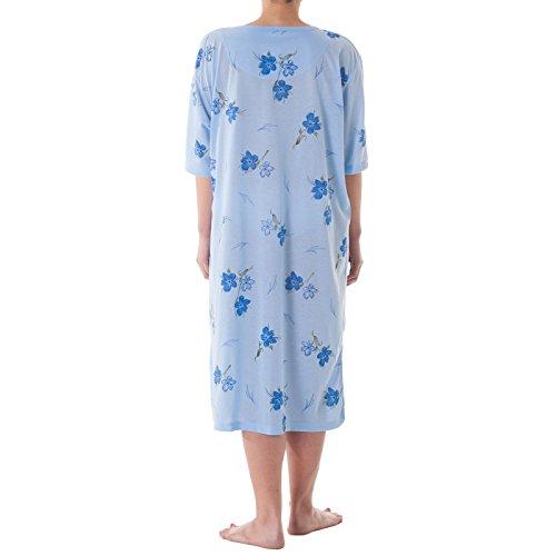 kurzam formati Con Blu notte grandi camicia stampa floreale Romesa da SwFwZtq