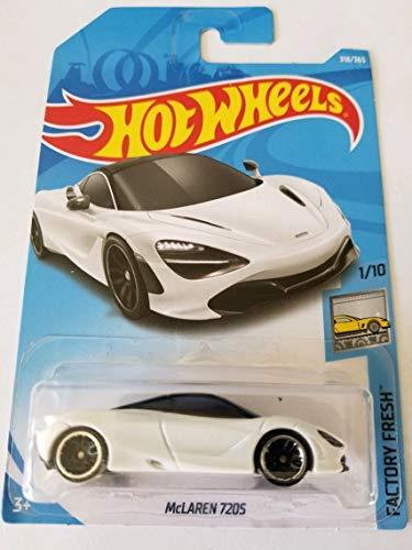 Hot Wheels 2018 Factory Fresh McLaren 720S 318/365 White