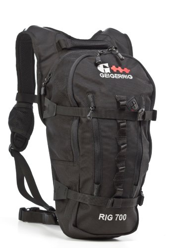 Geigerrig Rig 700 Hydration Pack (Black), Outdoor Stuffs