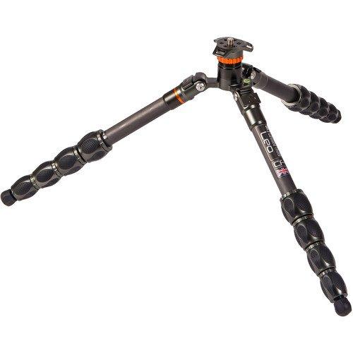 3 Legged Thing Eclipse Leo Carbon Fiber Travel Tripod (Gunmetal Gray)