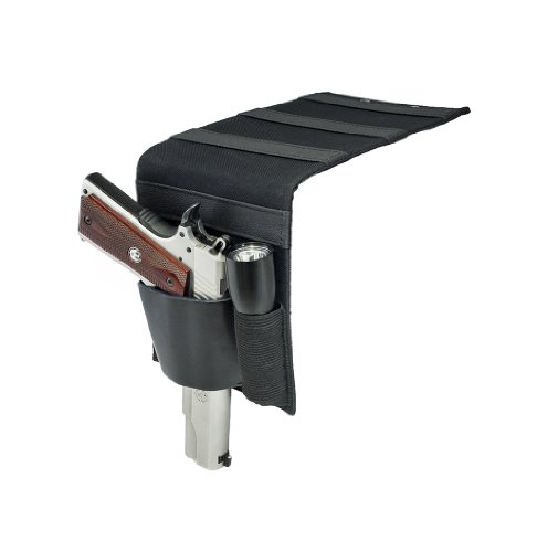 Taurus Semi Auto - Shark GunLeather Bed Mattress Gun Holster with Flashlight Loop - Fits All Medium to Large Semi-Autos and Revolvers Including Taurus Judge