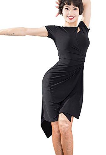 2fe2ad0322fa Latin Dress Practice Clothes Ballroom Dress Waltz Skirt Cha Cha ...