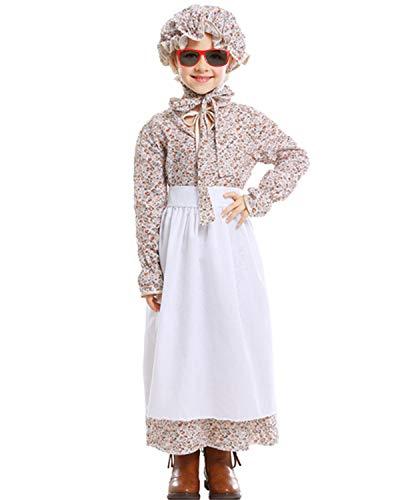 Renting Costumes In Colonial Williamsburg - YHBAO Girls' Pioneer Dress, Colonial Costume,Prairie