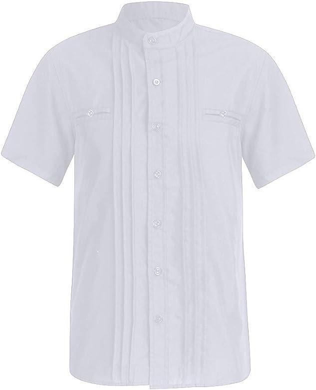 XuanhaFU Camiseta Hombre de Verano, de Camisa de Solapa de Manga ...