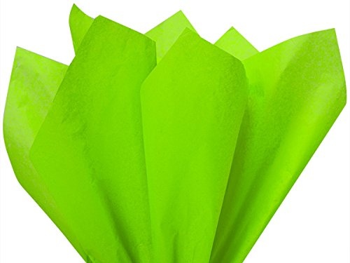Groovy Green 120 Sheets - Gift Wrapping Tissue Paper 15 x 20 | Colors of Rainbow