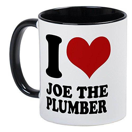 CafePress - I Love Joe The Plumber T Shirts. - Unique Coffee Mug, Coffee Cup