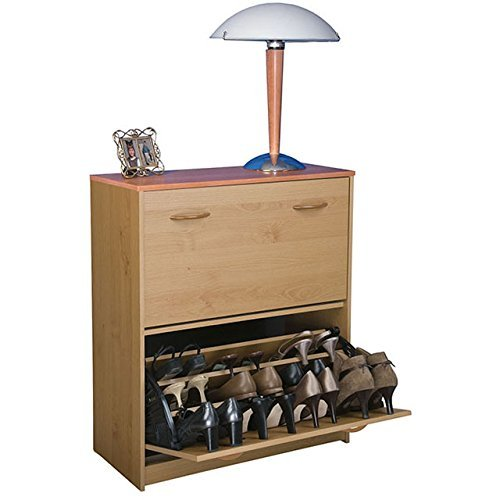 Venture Horizon Double Shoe Cabinet- Oak
