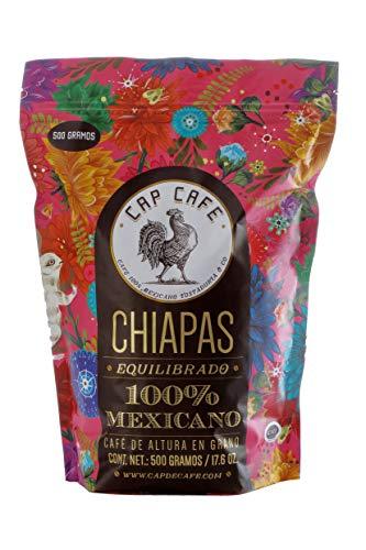 Cap Café, Grano Chiapas, 500 gramos