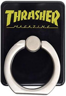 [スラッシャー] THRASHER マルチリング スマホ リング バンカーリング 落下防止 スマホリング おしゃれ ホールドリング 全機種対応