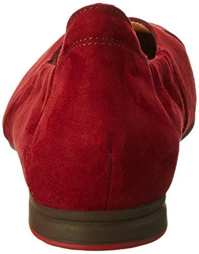 70 Women's Think Ballet Flats Beige Gaudi Red rosso FnqpwZT