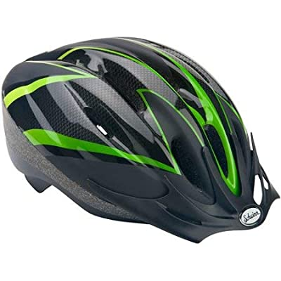 Schwinn Intercept Youth Bike Helmet, Ages 8+, Green : Sports & Outdoors