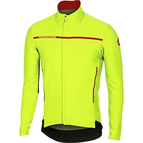 Castelli Perfetto Long-Sleeve Jersey - Men's Yellow Fluo, ()
