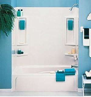 ASB 39240 Vantage Tub Wall, White, 5 Piece