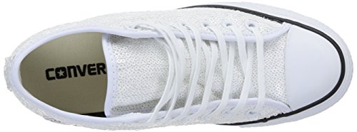 Converse All Star Mid Lux Sequins - Zapatos Mujer Op.White Sequins