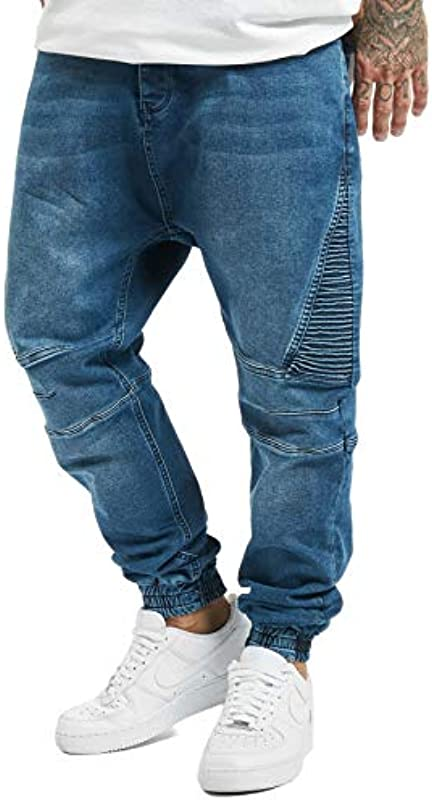 Męskie jeansy Dorian DEF Casual Baggy Jogger Urban: Odzież