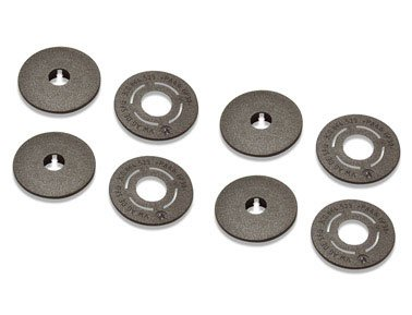 Genuine Volkswagen Round Floor Mat Clips, Set of 4 Clips