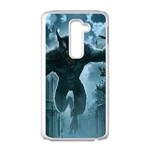 Cool Werewolf Hard Plastic Phone Case for LG G2 Shell Phone ZDSVEN(TM)