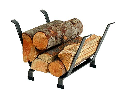 Enclume Country Home Log Basket Log Rack, Hammered Steel (Home Country & Hearth)