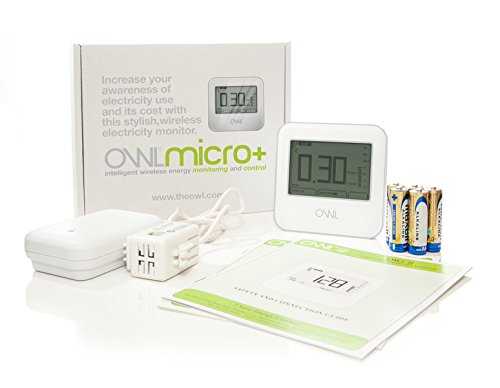 OWL Micro+ CM180 Wireless Home Energy Monitor 2SaveEnergy TSE009-001