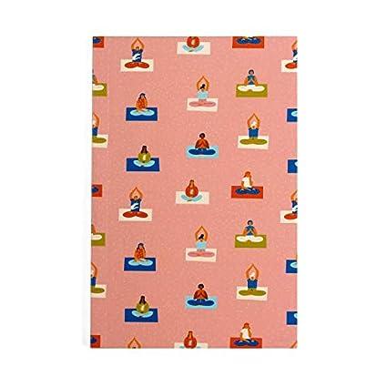 The Art People - Cuaderno para amantes del yoga, tamaño A5 ...