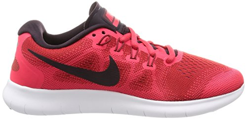Rojo para Zapatillas 2017 Mujer Wmns Nike portwein RN de Free Schwarz Rot Running Universität t6wzwxqT0