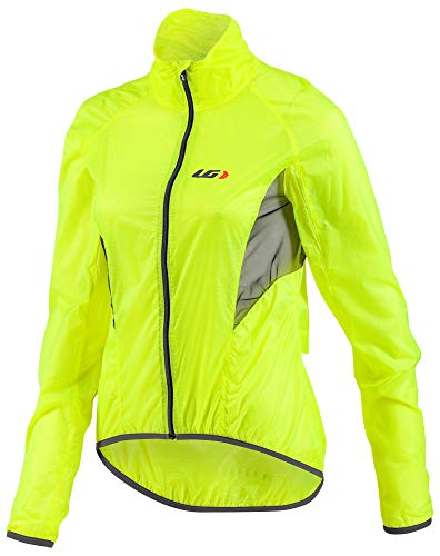 (Louis Garneau Women's X-Lite Bike Jacket, Bright Yellow,)