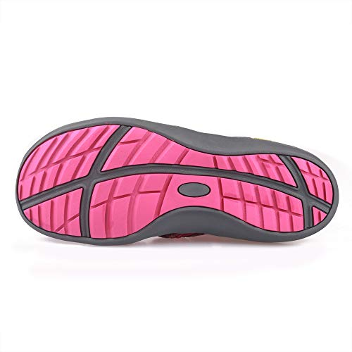 Pictures of GRITION Women Athletic Hiking Sandals Closed Toe 1801BLM 3