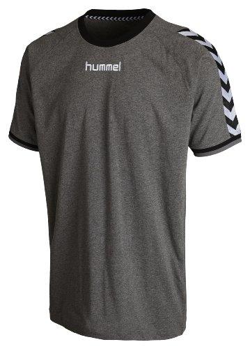 Hummel Herren T-Shirt Stay Authentic, dark grey melange, XL, 08-909-2007