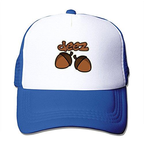 hugun-funny-deez-nuts-caps-royalblue-one-size