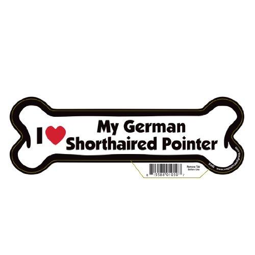 German Shorthaired Pointer Dog Bone Magnet