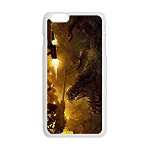 Creative Dinosaur Battle Hot Seller High Quality Case Cove For Iphone 6 Plaus