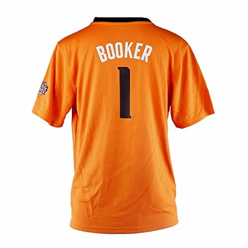 Devin Booker Phonix Suns NBA Adidas Youth Orange Official Alternate Replica Basketball Jersey (XL)