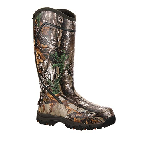 - Rocky Men's RKYS060 Rain Boot, Realtree Xtra Camouflage, 12 M US