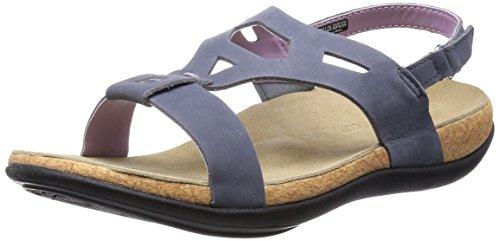 Spenco Tora Womens Strappy Sandals Blue - 8