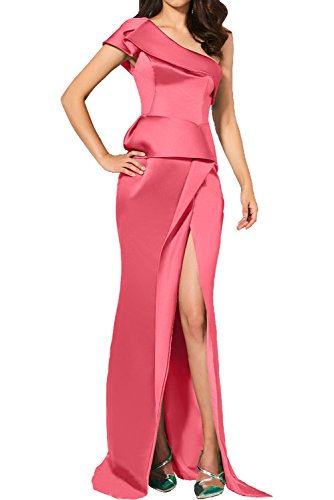 Damen Etui mit Ivydressing Partykleider Schlitz Promkleider Ein Elegant Wassermelon Cocktailkleider Neu Abendkleider Traeger dqqzHwv
