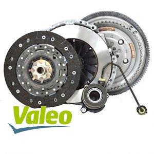 Kit Embrague, volante y almohadilla hidráulico Valeo, versiones Cambio semiautomático (kfs0133)