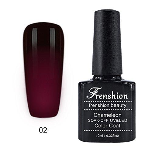 28 opinioni per Frenshion 10ML Smalto Semipermanente Camaleonte Gel Nail Polish UV LED