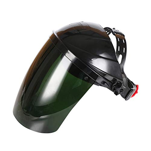 WINOMO 용접 마스크 눈부심 방지 용접 마스크 폭발 보호 마스크 (다크 그린) / WINOMO Welding Mask Anti-Glare Welding Mask Pressure Resistant Protection Mask (Dark Green)