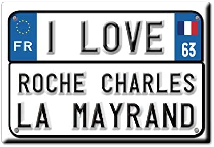 Enjoymagnets Roche Charles LA MAYRAND Souvenir IMANES DE Nevera ...