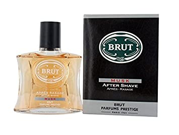 3 X Brut After Shave 100 Ml Musk Boxed Amazoncouk Health