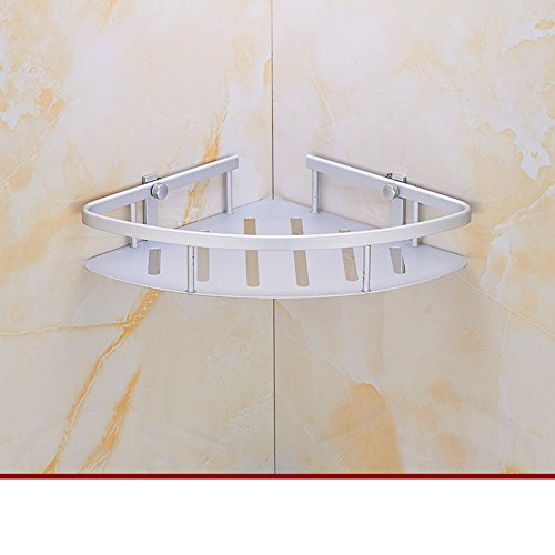durable service Aluminum bathroom space triangular racks/Bathroom corner rack/ bathroom storage rack-A