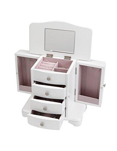 Classic Jewelry Box (White)