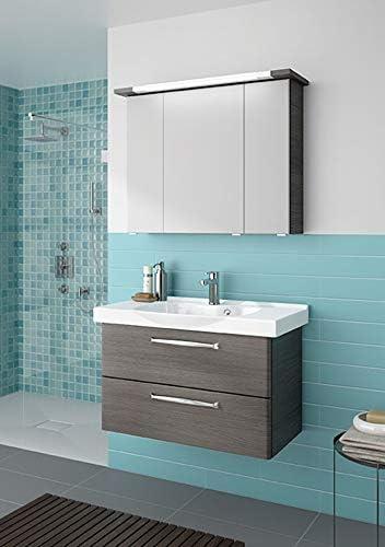 Pelipal Tren Tino 920 – Set de Muebles de baño (92 cm)/cerámica Lavabo/Armario/Armario con Espejo: Amazon.es: Hogar