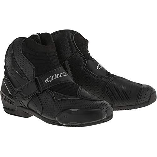Alpinestars Smx 1 Riding Motorcycle - Alpinestars SMX-1 R Vented Boots (45) (Black)