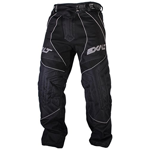 Exalt Paintball T4 Pants - Black/Grey - Large (Paintball Professional Pants)