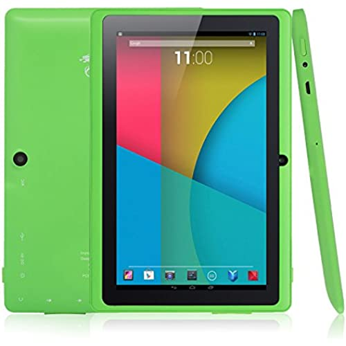 Dragon Touch Y88X 7 Quad Core Google Android 4.4 KitKat Tablet PC, Dual Camera, HD 1024x600 Multi-touch Screen, 8GB Nand Flash, Google Coupons