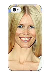 Sanp On Case Cover Protector For Iphone 4/4s (claudia Schiffer ) hjbrhga1544