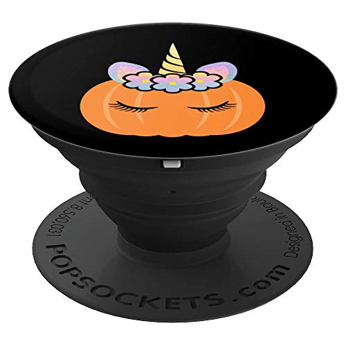 Unicorn Pumpkin Halloween Party Favor Prize - PopSockets Grip and Stand for Phones and Tablets]()